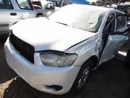 2008 TOYOTA HIGHLANDER HYBRID WHITE 3.3 AT 4WD Z19819