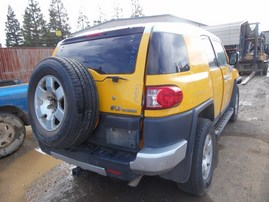 2007 TOYOTA FJ CRUISER YELLOW 4WD AT 4.0 Z19593