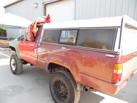 1988 T.TRUCK SR5 RED EXTRA CAB 2.4L AT 4WD Z18268