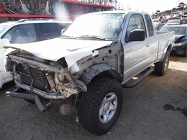 2002 TOYOTA TACOMA XTRA CAB SR5 PRERUNNER SILVER 3.4 AT 2WD TRD OFF ROAD PACKAGE Z20254