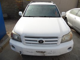 2007 TOYOTA HIGHLANDER LIMITED WHITE 3.3 AT 4WD Z19850