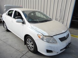 2009 TOYOTA COROLLA LE WHITE 1.8 AT Z19848