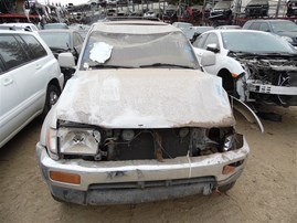 1997 TOYOTA 4RUNNER LIMITED SILVER 3.4 AT 4WD Z20263