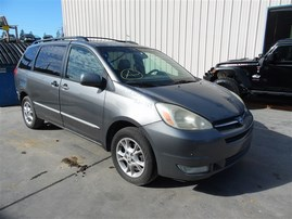 2004 TOYOTA SIENNA XLE LIMITED GRAY 3.3 AT AWD Z20269