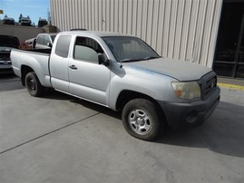 2005 TOYOTA TACOMA EXT CAB SILVER 2.7 MT 2WD Z19861