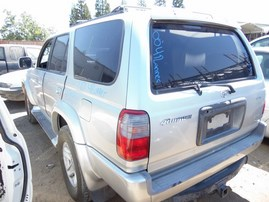 2000 TOYOTA 4RUNNER SR5 SILVER 3.4L AT 2WD Z17800