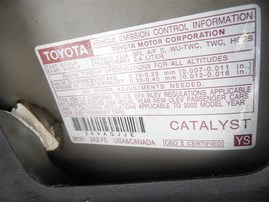 2002 TOYOTA CAMRY LE GOLD 2.4 AT Z19867