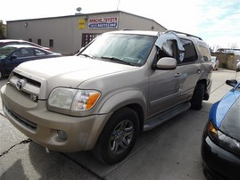 2007 TOYOTA SEQUOIA SR5 GOLD 4.7 AT 2WD Z20292