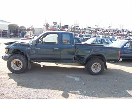 1998 TOYOTA TACOMA SR5 GREEN XTRA CAB 2.7L AT 4WD Z17854