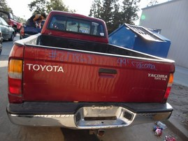 1999 TOYOTA TACOMA SR5 XTRA CAB BURGUNDY 3.4L AT 4WD Z17868