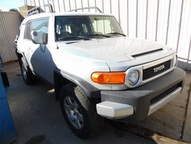 2007 TOYOTA FJ CRUISER SILVER 4.0 AT 4WD DIFF LOCK Z21328