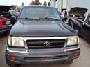 1998 TOYOTA TACOMA XTRA CAB DLX MODEL 2.7L AT 4X4 COLOR BLACK Z14589