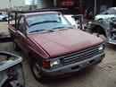 1987 TOYOTA PICK UP STD MODEL REGULAR CAB 2.4L CARBURETOR MT 2WD COLOR MAROON Z14612