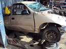 1997 TOYOTA TACOMA PICK UP REGULAR CAB DLX MODEL 2.4L AT 2WD COLOR GOLD Z14617
