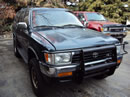 1995 TOYOTA 4RUNNER SUV SR5 MODEL 3.0L V6 AT 4X4 COLOR GREEN Z14619