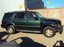 2001 TOYOTA SEQUOIA SUV LIMITED MODEL 4.7L V8 IFORCE AT 4WD COLOR GREEN STK Z13391