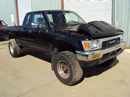 1991 TOYOTA PICK UP XTRA CAB DELUXE MODEL 3.0L V6 AT 4X4 COLOR BLACK  STK Z13393