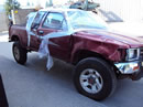 1993 TOYOTA PICK UP TRUCK XTRA CAB DLX MODEL 3.0L V6 MT 4X4 COLOR RED Z14624