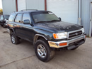 1997 TOYOTA 4RUNNER SUV SR5 MODEL 3.4L V6 AT 4X4 WITH REAR DIFF LOCK COLOR GREEN STK Z13402