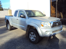 2008 TOYOTA TACOMA WITH ACCESS CAB SR5 PRE-RUNNER MODEL 4.0L V6 AT 2WD COLOR SILVER STK Z13400