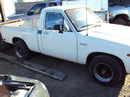 1982 TOYOTA PICK UP TRUCK REGULAR CAB STD MODEL 2.4L CARBURETOR MT 2WD 5 SPEED COLOR WHITE Z14648