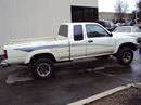 1990 TOYOTA TRUCK PICK UP XTRA CAB DLX MODEL 3.0L V6 MT 4X4 COLOR WHITE STK Z13406