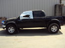 2002 TOYOTA TACOMA 4 DOOR DOUBLE CAB PRE RUNNER MODEL 3.4L V6 AT 2WD COLOR BLACK STK Z13408