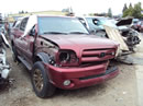 2006 TOYOTA TUNDRA DOUBLE CAB LIMITED MODEL 4.7L V8 AT RWD COLOR MAROON  Z14654