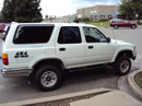 1995 TOYOTA 4RUNNER SR5 MODEL 3.0L V6 AT 4X4 COLOR WHITE  Z14656