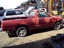 2000 TOYOTA TACOMA REGULAR CAB DLX MODEL 2.4L MT 2WD COLOR RED Z14663