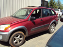 2003 TOYOTA RAV4 4DOOR L MODEL 2.0L AT 4WD COLOR RED STK Z13415