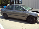 2005 TOYOTA COROLLA 4 DOOR SEDAN CE MODEL 1.8L MT FWD COLOR GRAY STK Z13416