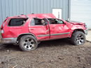 1998 TOYOTA 4RUNNER SUV SR5 MODEL 3.4L V6 MT 4X4 COLOR RED Z13418