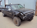 1991 TOYOTA TRUCK XTRA CAB SR5 MODEL 3.0L V6 MT 4X4 COLOR GRAY Z13419