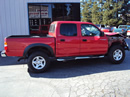 2004 TOYOTA TACOMA DOUBLE CAB 4 DOOR PRE-RUNNER 3.4L V6 AT 2WD COLOR RED Z13424