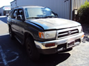 1997 TOYOTA 4RUNNER SUV SR5 MODEL 3.4L V6 AT 2WD COLOR GREEN STK Z13427