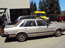 1984 TOYOTA CRESSIDA 4 DOOR SEDAN LUXURY MODEL 2.8L 6CYL AT RWD COLOR SILVER Z14676