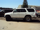 1997 TOYOTA 4 RUNNER SUV SR5 MODEL 3.4L V6 AT 4X4 COLOR WHITE STK Z13428