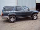 1992 TOYOTA 4RUNNER SUV SR5 MODEL 3.0L V6 AT 4X4 COLOR GREEN STK Z13431