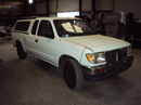1997 TOYOTA TACOMA XTRA CAB DLX MODEL 2.4L AT 2WD COLOR WHITE STK Z13433