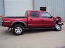 2001 TOYOTA TACOMA 4 DOOR SR5 MODEL WITH TRD PACKAGE 3.4L V6 AT 4X4 COLOR RED STK Z13434