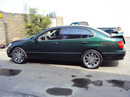 1998 LEXUS GS 400 MODEL 4 DOOR SEDAN 4.0L AT 2WD COLOR GREEN Stock # Z13435