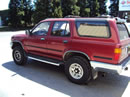 1995 TOYOTA 4RUNNER SR5 MODEL 3.0L V6 AT 4X4 COLOR RED Z14685