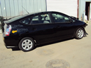 2004 TOYOTA PRIUS HATCHBACK 4 DOOR 1.5L AT HYBRID COLOR BLACK Z13443