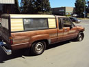 1987 TOYOTA PICK UP TRUCK XTRA CAB SR5 MODEL 2.4L EFI AT 2WD COLOR BROWN Z14697
