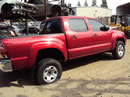 2006 TOYOTA TACOMA PRE-RUNNER SR5 MODEL DOUBLE CAB 4.0L V6 AT 2WD COLOR RED Z14718