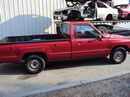 1987 TOYOTA PICK UP TRUCK REGULAR CAB STANDARD MODEL 2.4L CARBURETOR MT 5 SPEED 2WD COLOR RED Z13489