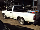 1993 TOYOTA PICK UP REGULAR CAB 2.4L FUEL INJECTION MT 5 SPEED 2WD COLOR WHITE Z14735