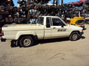 1985 TOYOTA PICK UP TRUCK XTRA CAB DLX MODEL 2.4L CARBURETOR MT 5 SPEED 2WD COLOR BEIGE Z14737