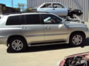 2007 TOYOTA HIGHLANDER HYBRID MODEL WITH THIRD ROW SEATS 3.3L V6 AT AWD COLOR SILVER Z13519